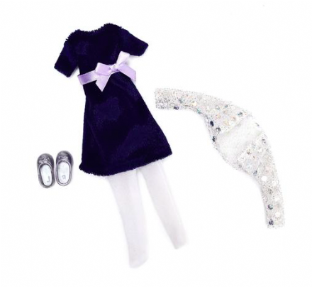 Lottie Doll Accessory Set - Blue Velvet